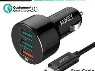 Aukey CC-T11 Charger Free Giveaway to first 10 Reviewers