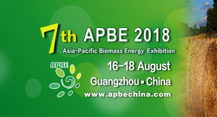 The 7th Asia-pacific Biomass Energy Exhibition 2018 (APBE 2018)