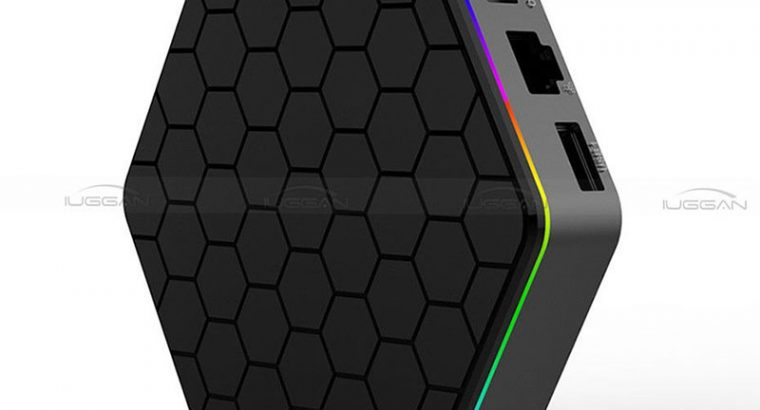 Octa Core T95Z PLUS 3GB/32GB Android 7.1 Dual Wifi 3D 4K TV Box+Backlit keyboard