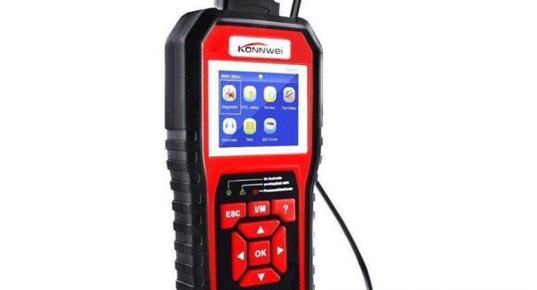 KW850 OBD2 OBD Car Diagnostic Scanner Automotive Erase Engine Fault Codes Reader