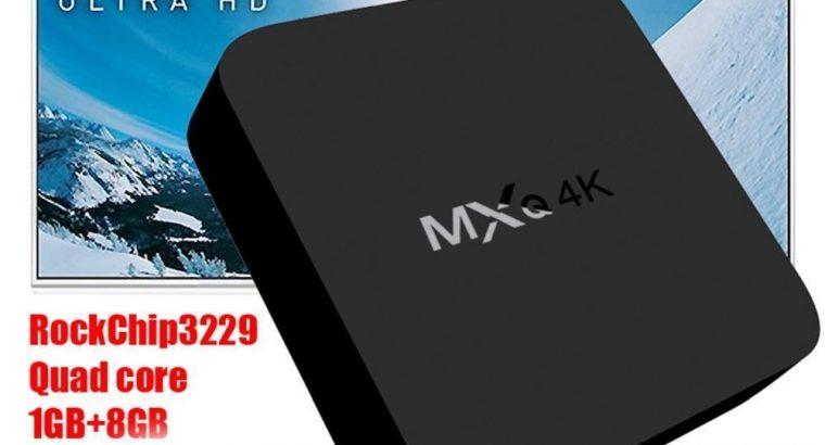 Android 7.1 MXQ Pro 4K*2K 1080P Smart TV BOX XBMC Android Quad Core WiFi 8GB IPTV Mini PC