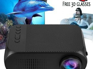 Mini LED Projector 1080P Home Theater Media Player Beamer