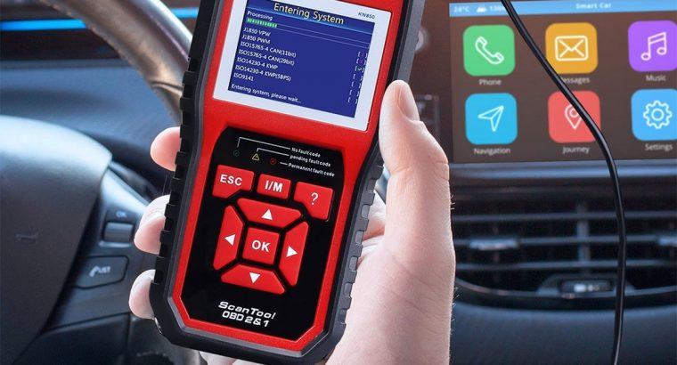 KW850 EOBD OBD2 Car Diagnostic Tool Scanner Automotive Code Reader