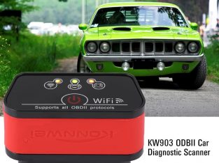 KW903 ELM327 WIFI OBDII Car Diagnostic Scanner Tool For iOS Android