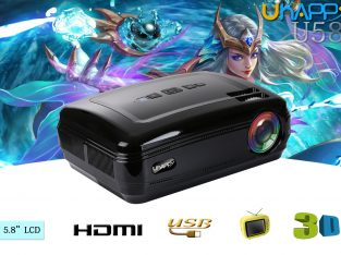 UHAPPY U58 3200 Lumens LED Video Projector