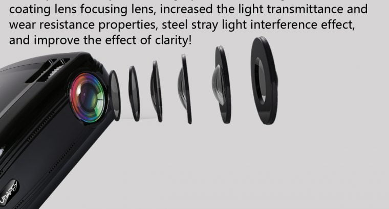 UHAPPY U58 3200 Lumens LED Video Projector