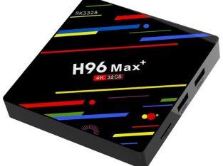 H96 Max Plus Smart TV Box RK3328 4GB RAM 32GB ROM Android Oreo