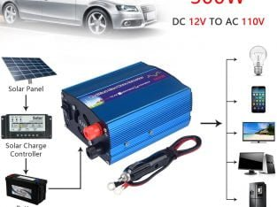 300 Watt Modified Sine-Wave Car Inverter 12VDC to 110VAC