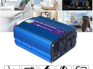 300 Watt Modified Sine-Wave Car Inverter 12VDC to 220VAC