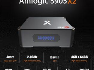 A95X MAX TV Box S905X2 Quad Core WIFI Bluetooth