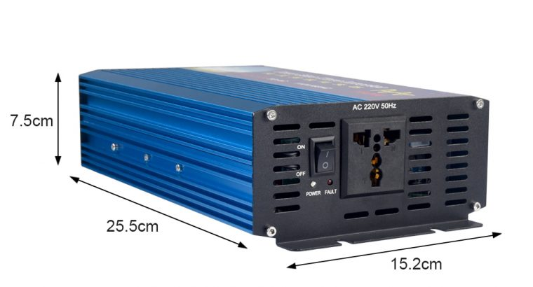 1000 Watt DC12V to AC 220V Pure Sine Wave Inverter