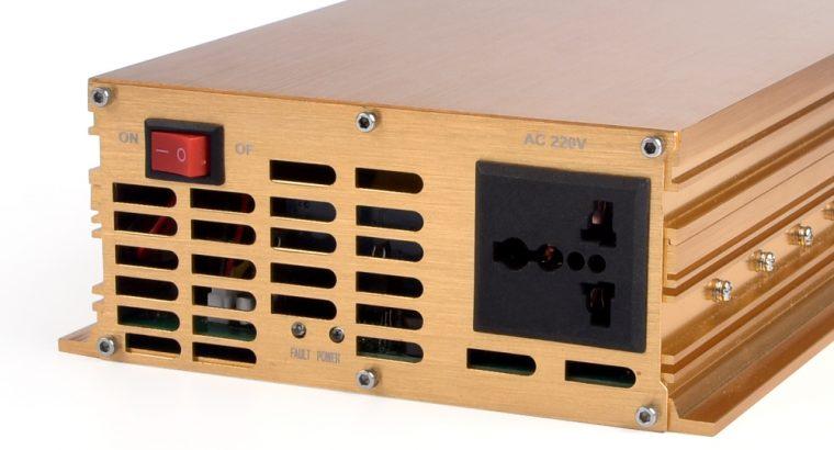 DC12V to AC 110V modified sine wave inverter 2000W