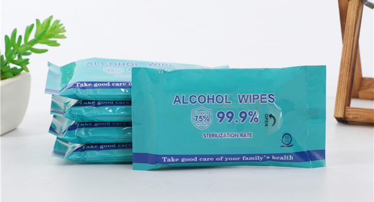 75% Alcohol Wet Wipes with CE FDA Certification