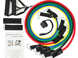11 PCs Resistance Bands More Details: