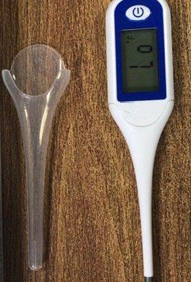 Digital Thermometer Big LCD Screen Last memory FDA