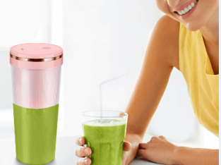 Portable USB electric plastic juicer blender